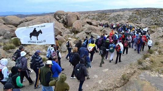 Se viene la peregrinación de 28 kilómetros por la huella de Brochero