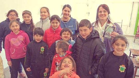 Llevan la educación cooperativa a una escuela rural