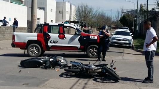 Tendencia irreversible: Las motos están en el 77% de los accidentes en Villa María