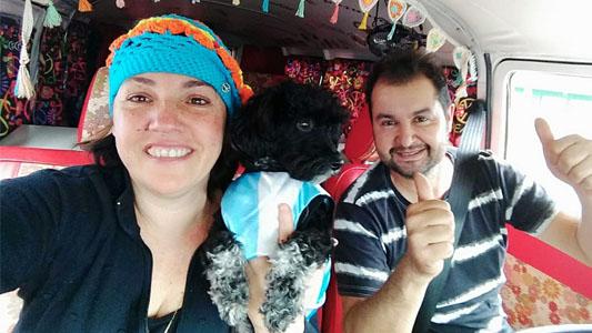 Margarita, la combi que viajó hasta Brasil y ganó en el encuentro latinoamericano