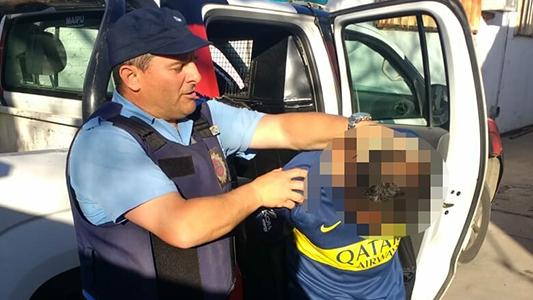 Hincha de Boca detenido en la previa del superclásico por agresión