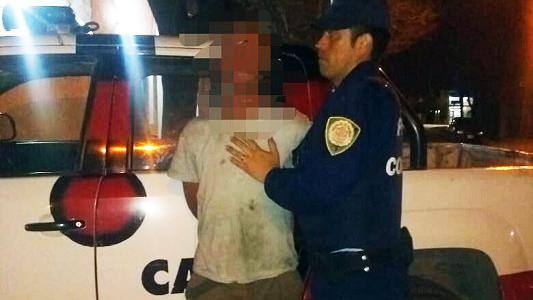 Violencia de Género: Le pegó una trompada en la cara a su pareja