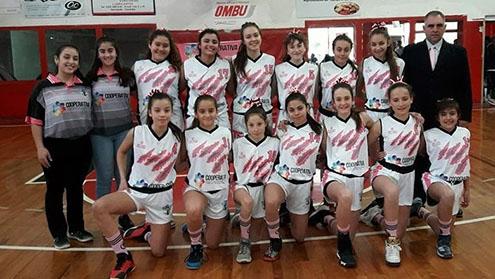 Tío Pujio tiene a las campeonas provinciales de básquet