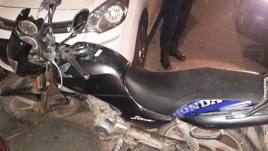 Robó una moto en barrio Belgrano y lo agarraron huyendo hacia el Ameghino