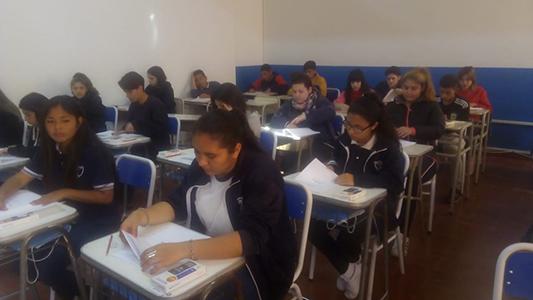 Pruebas internacionales PISA: 29 alumnos del IPEM 147 fueron evaluados