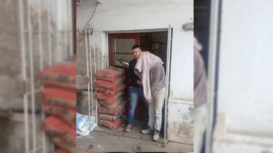 Tenía materiales de obra robados en su casa y quedó detenido