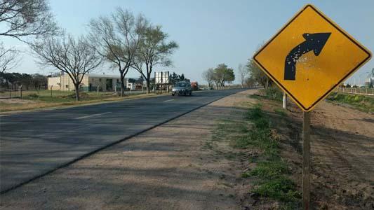 Ruta 158: una obra peligrosa para quienes transitan desde Villa María hasta Las Varillas