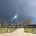 Alerta meteorológica por posible caída de granizo en la ciudad