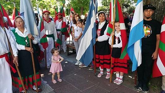Por primera vez se festeja en Villa María el Día de la Diáspora Vasca