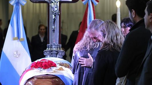 La despedida final a De La Sota y el homenaje del gobernador Schiaretti