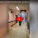 Video: Hospital inundado y con desprendimientos por la intensa tormenta