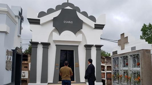 Recuperación y restauración del Cementerio: la obra continúa según lo planeado