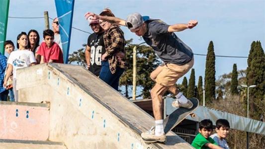 Promesa olímpica villamariense: Joel de Castro lleva el skate a Tokio 2020