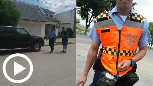 Pastor denuncia a policías por maltrato y dice que le faltaron $ 20.000 de la camioneta