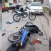 Ladrones atrapados por vecinos: Chocaron a un inspector y robaban motos