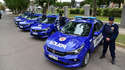 Sumaron cinco móviles y cuatro motos para patrullar la ciudad