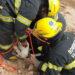 El rescate de un ternero a través de una secuencia de imágenes