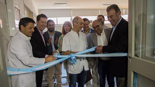 Bell Ville con terapia intensiva: Fortuna inauguró las nuevas instalaciones