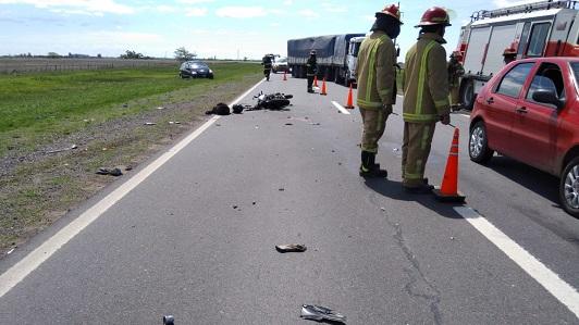 Camionero de Villa Nueva en choque fatal: Motociclista llevaba pastillas de éxtasis