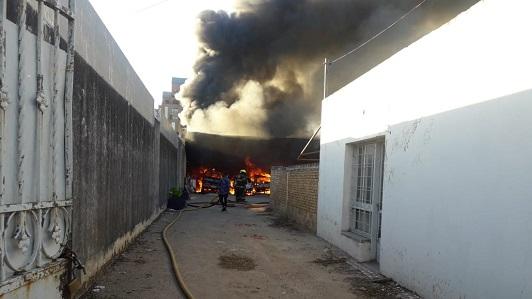 Un Audi y un BMW entre los 5 autos incendiados en la cochera