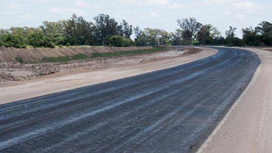 Así está la ruta que se abre junto a Villa Nueva para desviar camiones
