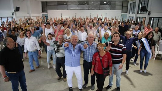 Cacho Buenaventura se llevó la ovación del público en la Fiesta del Cordero