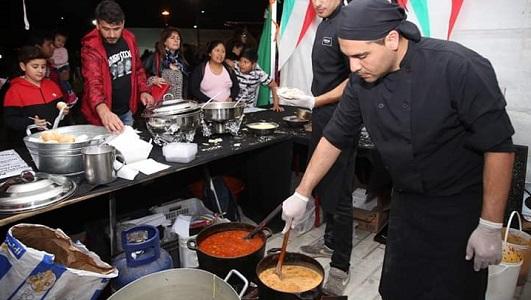 Más de 3.500 personas disfrutaron de la gastronomía en Colectividades 2018