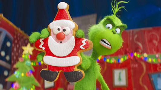 Con espíritu navideño: llega El Grinch al cine para los más pequeños