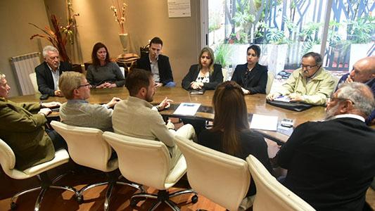 Gill se reunió con las empresas brasileras que se radican en la ciudad