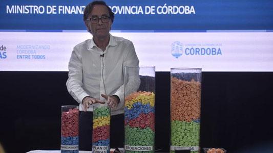 Con caramelos, la Provincia explicó el presupuesto 2019