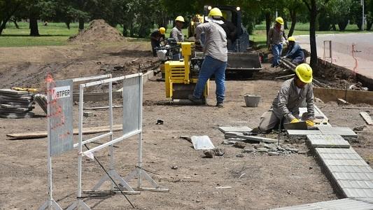 ¿Cómo avanza la obra de refuncionalización del Parque Pereira?