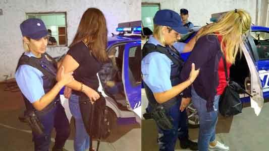 Cuatro mecheras cordobesas atrapadas cuando escapaban de Villa María