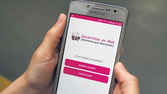 Aborto: Cómo funciona en Villa María la aplicación para celulares que ayuda a decidir