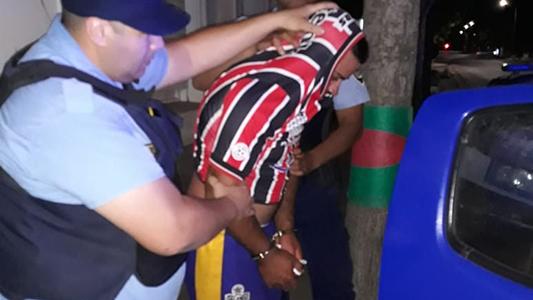 Chazon: joven detenido dormía en la terminal con una escopeta en su bolso