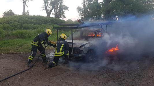 Se quemó por completo: No quedó una parte a salvo de la llamas