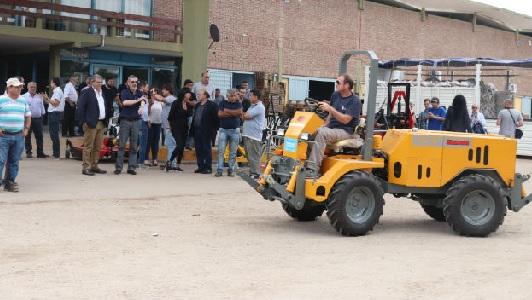 La Provincia invirtió más de $ 5 millones para los quinteros de Villa María