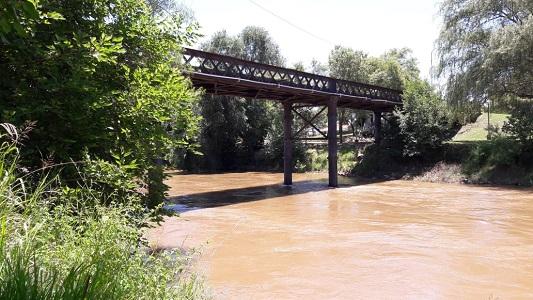 Villa Nueva: Rescataron a un joven que se tiró al río desde el puente