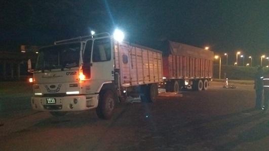 Choque fatal: Motociclista de Alto Alegre murió en ruta 2