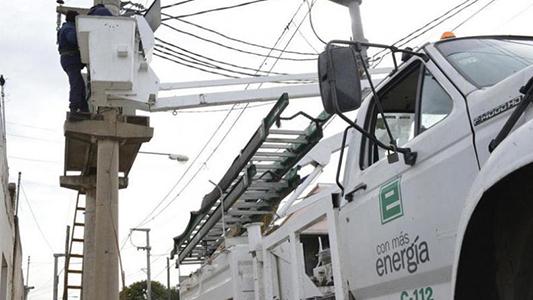 Corte de energía programado para nueve barrios el fin de semana