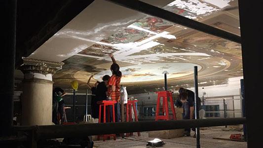 Por dentro: Visitamos la remodelación del Teatro del Libertador para el Congreso de la Lengua