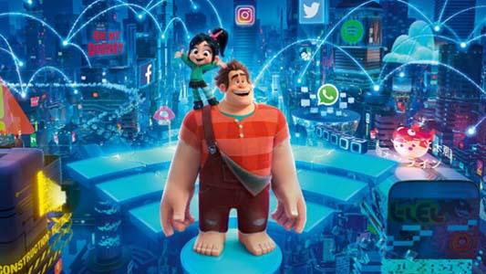 """Para meterse en el mundo de Internet: Estrenó la peli """"Wifi Ralph"""""""