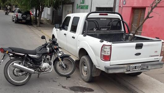 Grave: Acusan a menor de edad de provocar serio accidente con su moto