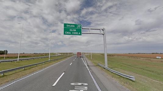 Oliva: Paciente de la colonia se escapó y murió atropellado en la Autopista