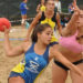 Jugadores regionales de beach handball vienen a competir a Villa Nueva