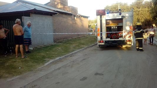Fuga de gas en Villa Nueva: Rompieron un caño en una obra