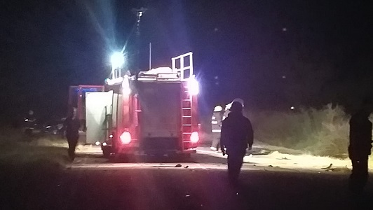 Accidente fatal en Villa Nueva: 5 muertos en un choque sobre ruta 4