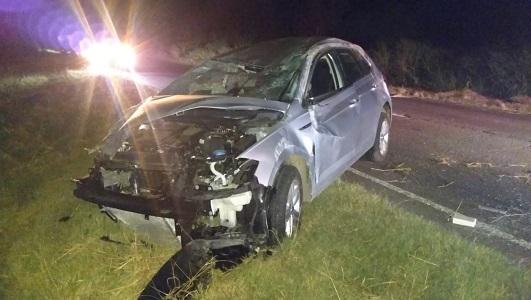 Accidente fatal: El conductor del Polo está imputado y preso por homicidio