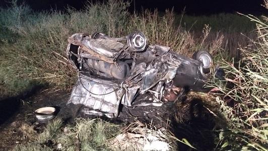 Accidente fatal: Identificaron a las víctimas de la familia de Sanabria calcinada