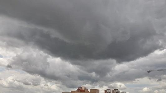 Miércoles infernal con probabilidad de tormentas