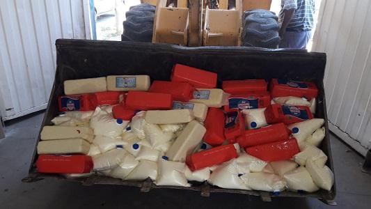 En el pico de calor llevaban quesos y crema sin refrigeración: 2 detenidos